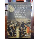 Ossorio - Diccionario De Ciencias Jurídicas, Políticas Y ...