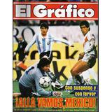 Revista El Gráfico Nro. 3430 - Tapa: Argentina - Perú