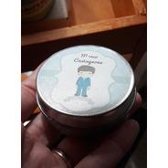 10 Pastilleros Personalizados 5cm Souvenir
