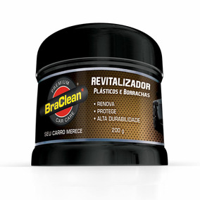 Revitalizador De Plásticos, Borrachas, Para-choque Braclean
