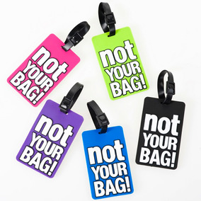 Identificador De Equipaje Not Your Bag! Regalos Morph