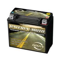 Bateria Selada Route Ytx20l-bs Free P/ Motos 12 Volts 18 Ah