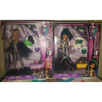 Monster High Halloween Tenebroso (cleo Y Clawdeen Wolf Loba)
