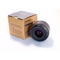 Yongnuo Yn 35mm F2 P/ Câmeras Canon Dslr + Brinde Filtro Uv