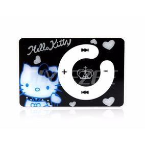 Mini Usb Mp3 Player Portátil Preto Mini Sd Hello Kitty