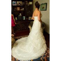 Hermoso Vestido De Novia, Excelente Estado, Casa Blanca