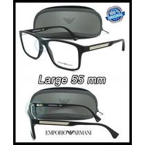 Armazon Oftalmico Emporio Armani Ea3055 5063 Black Rubber