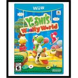 Yoshi Woolly World Wii U Fisico Nuevo Nintendo En Hadriatica