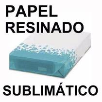 Papel Impresso Para Sublimação - Pronto Para Estampar! A4