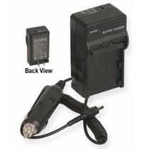 Carregador De Bateria Fh50 Np-fv30 Sony A230 Bc-trv Dcr-sx63