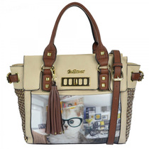 Bolsa Rafitthy Be Forever Office Cat 31.71118 Natural/ Sela