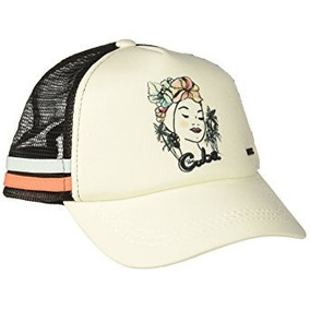 Cachucha Unitalla Color Blanco-negro De Mujer Marca Roxy. d306798d65c
