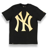 Camiseta New York Yankees Color Preto/dourado - New Era