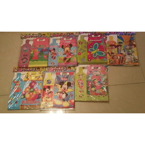 Cotillones Rectangular Carton Mickey Minnie Frutillita Peppa