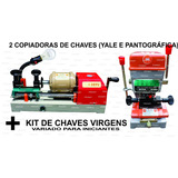 2 Copiadoras Chaves Yale E Pantográfica + Kit 500 Chaves