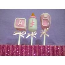 15 Cake Pops Recuerdos Baby Shower Pastel O Mesa De Dulces