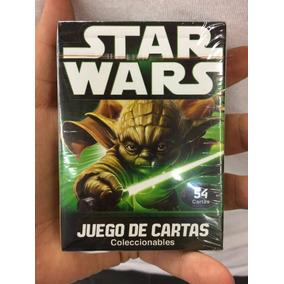 Juego De Cartas Póker Star Wars Originales