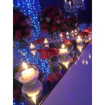 Centros De Mesa,arreglos Florales,casamientos,15años,empresa