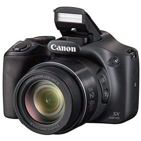 Canon Sx530 Hs Full Hd Zoom 50x + Bolso + 32 Gb Clase 10