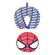 Almofada E Almofada De Pescoço 2 Em 1 Miniso - Homem Aranha