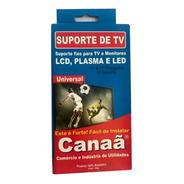Suporte Tv Led, Lcd , Plasma Monitor De 10/70 Polegadas Fixo