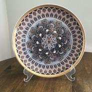 Prato Decorativo Mandala - 18,5cm - Decor30