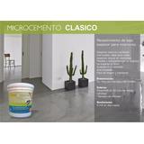 Microcemento, Micropiso, Microdesign® 12m2 Con Color Y Laca