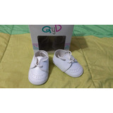 Zapatos Escolares Blanco Talle 16 Bebe Niño Recien Nacido