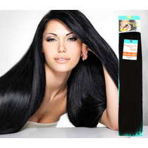 Extensiones De Cabello Natural, 100% Human Hair 22 Pulgadas