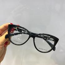 Óculos Armação De Grau Estilo Gatinho Acetato Fem. + Brinde