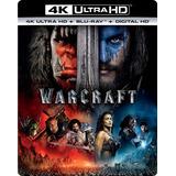 Warcraft Pelicula Blu-ray 4k Nuevo Sellado Envio Gratis