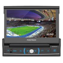 Dvd Player Positron Sp-6720 Dtv Tela Retratil De 7 Polegadas
