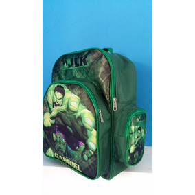 Mochilas Personalizadas Infantil Incrível Hulk