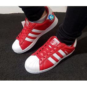 adidas superstars rojas