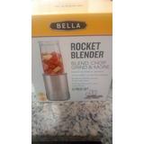 Bella Personal Size Rocket Blender, 12 Piece Set, Color St