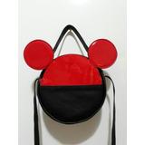Bolsa Redonda Do Mickey E Minnie Replica Da Arrezo