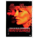 Dvd Notas Sobre Um Escândalo