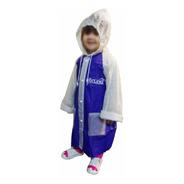 Capa De Chuva Infantil Menino Menina Masculino Feminino 1 Un