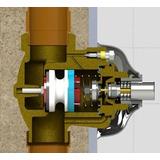 Reparo Embolo Censi Ref:6020 Válvula Descarga Ant.hydra 4mod