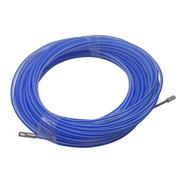 Cinta Pasacable Plástica Color Azul Mavi X20 Mts Unidad