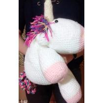 Unicornio Arcoiris A Crochet
