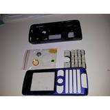 Carcasa Sony Ericson W200 Azul