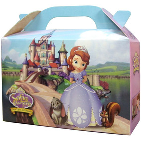 Princesa Sofia Bolsita Golosinera Souvenir Valijita Pack X10
