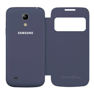 Funda Samsung Galaxy S4 I9500 Flip Cover S View Azul Marino