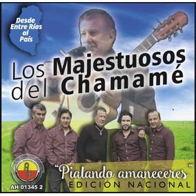 Los Majestuosos Del Chamamé - Pialando Amaneceres Cd Nuevo
