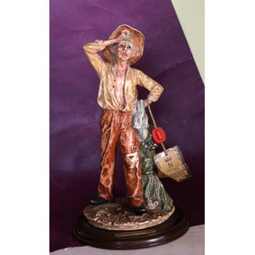 Figura De Porcelana Cirrincione - Estilo Capodimonte