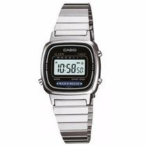 Relógio Casio Feminino Vintage La670wa-1df - ( Nota Fiscal )