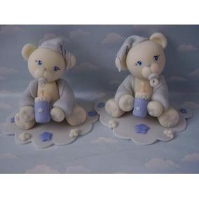 Souvenirs Infantiles Ositos, Hipopotamos Porcelana Fria.