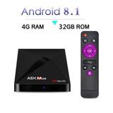 Tv Box A5x Max Android 8.1 4gb /32gb 4k Bluetooth 4.0 Ya
