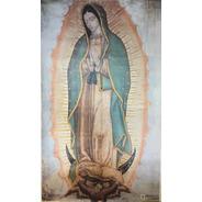 Litografía Virgen De Guadalupe Edición Peregrina  91 X 54cm